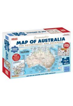 Giant Map Of Australia.1000pc Ag Map Of Australia