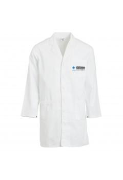 vu logo white lab coat xl victoria university the co op