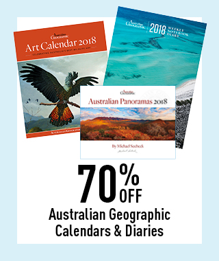 70% off Australian Geographic Calendars
