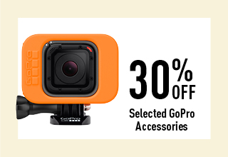 30% off selected GoPro Accessories