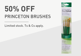 Princeton Paint Brushes
